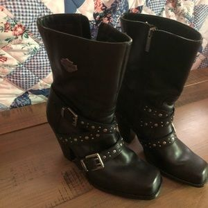 Haley Davidson Boots